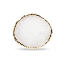 Marble Plate - biely