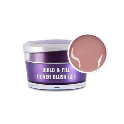 Build & Fill Cover Blush Gél,50g - Predľžovací stavebný gél