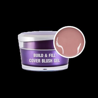 Build & Fill Cover Blush Gél,15g - Predľžovací stavebný gél