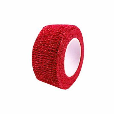 Červená páska na ochranu prstov