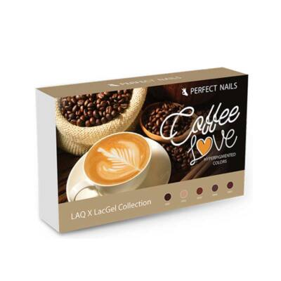 LACGEL LAQ X COFFEE LOVE gél lak kolekcia - NOVA GENERACIA GEL LAKOV