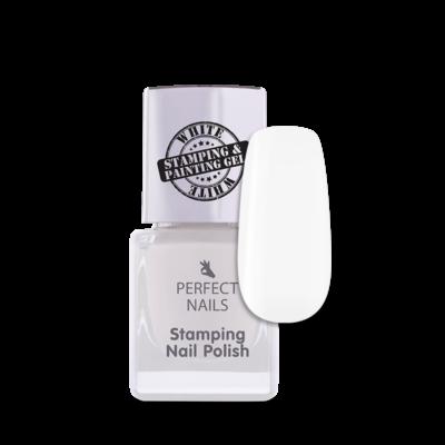 Stamping lak na pečiatkovanie 002 Bielý 7ml