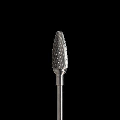Brúsny nástavec karbidový kužeľ ROMBH