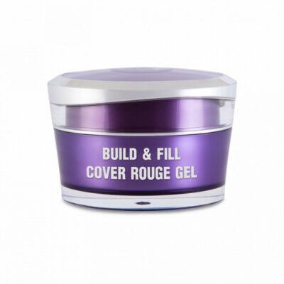 Build & Fill Cover gel rouge 15g - Predľžovací stavebný gél