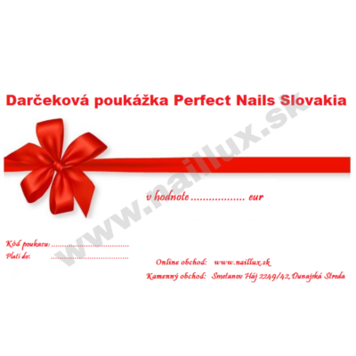 Darčekový poukaz v hodnote 50 eur