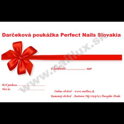 Darčekový poukaz v hodnote 20 eur